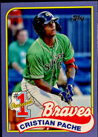 2020 CRISTIAN PACHE Topps Update #1 Prospect RARE! Braves #P-7 BLUE Parallel RC