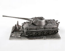 Collectible Metal Model of the German Tank Löwe with stand Scale 1:72.