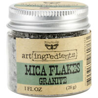 Prima Marketing Finnabair Art Ingredients Mica Flakes 1oz-Granite, AIMF-96176
