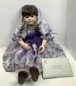 """Marie Osmond Coming Up Roses 2005 Marie 24""""  Doll Plays Paper Roses 12690/17500"""