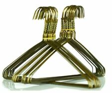"""100 x Gold Metal Wire Coat Hangers Commercial Quality 16"""" (400mm x 2.18mm)"""