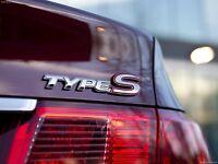 GENUINE OEM REAR BOOT TRUNK TYPE S EMBLEM BADGE FOR HONDA ACCORD EURO CIVIC TSX