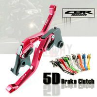 5D Adjustable Motorcycle Brake Clutch Levers for HONDA CBR500R CB500 F/X 13-16