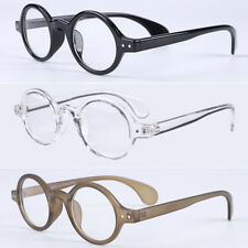 9b191f5209 Vintage Oval Round 42.70mm Small Eyeglass Frames Clear Lens Rx able Glasses