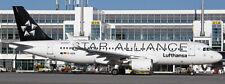 JCWINGS JCEW2320012 1/200 LUFTHANSA AIRBUS A320 STAR ALLIANCE REG:D-AIUA W/STAND