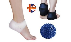 5-Piece Plantar Fasciitis and Heel Relief Kit Foot Care Set Arch Support