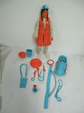 VINTAGE MARX BEST OF THE JOHNNY  WEST PRINCESS WILDFLOWER DOLL  ACCESSORIES