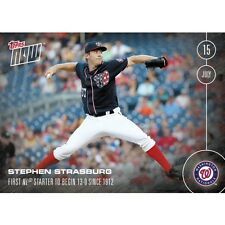 2016 Topps Now #249 Stephen Strasburg  Washington Nationals  Print Run: 555