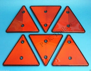 Triangle Reflectors for Driveway Fence Posts, Garden Walls & Trailers