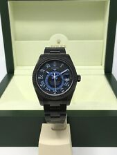 Rolex Sky Dweller 326934 Black Pvd With Blue Dial