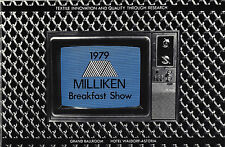"Ginger Rogers ""MILLIKEN BREAKFAST SHOW"" Chita Rivera / Ann Reinking 1979 Program"