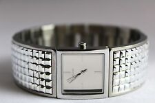 New DKNY NY2230 Bryant Park Silver Studded Women Bracelet Watch