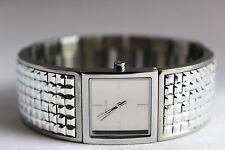 New DKNY NY2230 Bryant Park Silver Studded Women Bracelet Watch