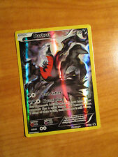 EX FULL ART Pokemon Mythical DARKRAI Card BLACK STAR PROMO XY114 Set Collection