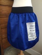 Dr. Who Tardis blue skirt handmade Halloween costume Cosplay size sm 6