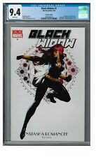 Black Widow #1 (2010) Djurdjevic Women of Marvel Cover Black Rose Cgc 9.4 Eb177
