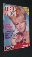 Revista Brigitte Bardot Tele Bolsillo N º 963 Julio 1984 Buen Estado