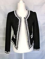 White House Black Market Blazer Women's Size 00 Tweed Jacket