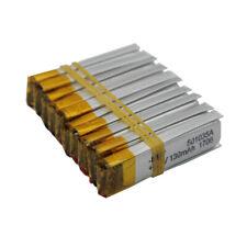 10pcs 3.7V 130mAh 501035 Polymer Li po Lithium cell For GPS Sat Nav Headset Pen