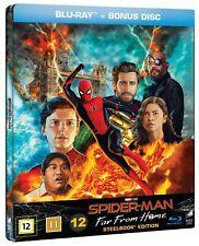 Spider-Man: Far From Home - Steelbook [Danish Import] (UK IMPORT) BLU-RAY NEW