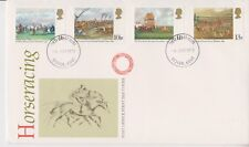 UNADDRESSED GB FDC ROYAL MAIL 1979 HORSERACING STAMP SET DOVER PMK