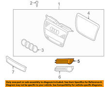 AUDI OEM 06-08 A3 Front Bumper-Lower Bottom Grille Grill Left 8P4807681F