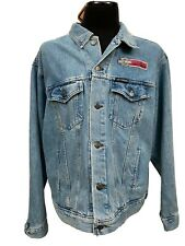 Harley Davidson Denim Jacket Men's 2XL Daytona Charity Ride Boggy Creek NEW NOS
