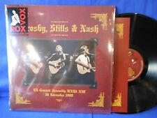 CROSBY STILLS NASH LIVE 89 NYC 2LP REPRESS EXC+