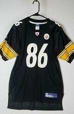 Reebok NFL Vintage Pittsburgh Steelers Football Jersey 86 Ward