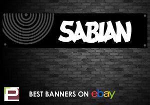 Sabian Symbol Banner, for Rehearsal Room, Studio, Garage, Shop,