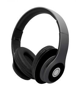 WIRELESS HEADPHONES OVER EAR EARPHONES HEADSET MIC FOLDABLE for PHONES & TABLETS