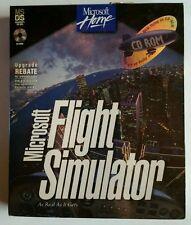 Microsoft Flight Simulator 5.1 CD-ROM Bonus Pack PC 1996 NEW AND SEALED