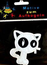 Aufbügler Bügelbild Applikation Flicken Aufnäher Katze 60005