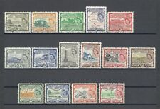 ST CHRISTOPHER NEVIS ANGUILLA 1954-63 SG 106A/18 USED Cat £42