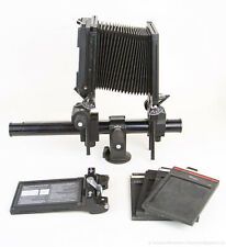Swiss SINAR F2 Large Format Professional View Film Camera 4x5 +Extras EXCELLENT