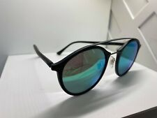 Ray Ban RB4266 Round Green Mirror 601S3R 49-21-140mm $225 DEFECTED #11