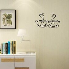 Removable Coffee Cup Cafe Tea Wall Stickers for Kitchen Dining Room Mural Vinyl