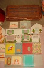 MARX Vintage 1950'S SUBURBAN Colonial Doll House WITH BOX