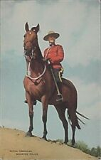 ROYAL CANADIAN MOUNTED POLICE POST CARD, 1948