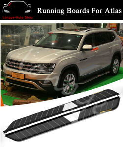 Fits for VW Atlas 2018 2019 2020 Running Boards Side Step Nerf Bars Protector