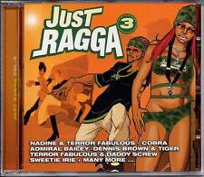 Reggae Music Dancehall Various Just Ragga Vol 3 CRCD0703 Authentic Sealed CD New