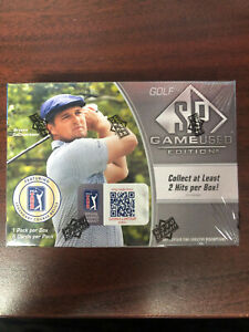 2021 UD SP GAME USED SPGU GOLF HOBBY FACTORY SEALED BOX *CANADA SHIP ONLY*