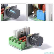 220V 2000W SCR regulador voltaje Dimmer electrónica control velocidad