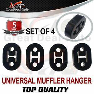 FIT HOLDEN COMMODORE FOR TOYOTA COROLLA FOR FORD EXHAUST HANGER MOUNTS RUBBER X4