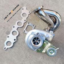 Turbo Manifold Exhaust Header&T25 T28 Turbo for Suzuki Swift GTi G13B 1.3L SS304