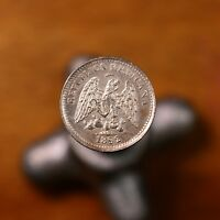 Raw 1892 Mo M Mexico 5C Uncertified Ungraded Mexican Silver 5 Centavo Silver