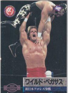 032 Wild Pegasus ( Chris Benoit ) 2nd print ver.  BBM 1997 pro-Wrestling card