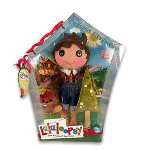 Lalaloopsy Forest Evergreen Doll Large, New In Box. Now Discontinued.