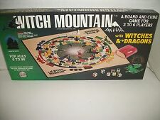 Rare 1983 Witch Mountain Witches Dragons Board Game B&B Games Haunted House