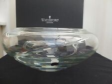 "WATERFORD CRYSTAL SIREN 12"" BOWL *MADE IN IRELAND* *MINT*"